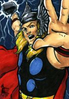 Thor - March of Dimes by Marker-Mistress