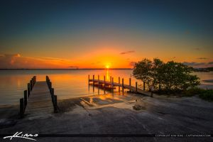 Jaycee-Park-Fort-Pierce-Sunset by CaptainKimo