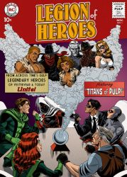 Legion Of Heroes by GeorgeSellas