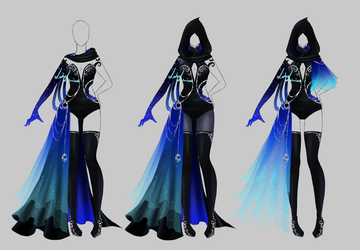 Outfit design - 204  - closed by LotusLumino