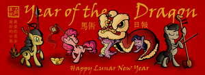 Happy Chinese New Year of the Dragon by SouthParkTaoist