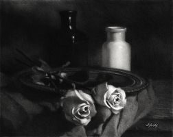 Two Roses by JoseHerb