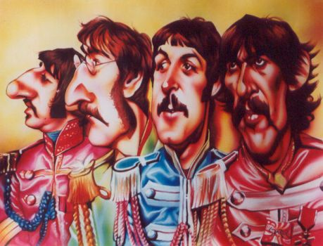 Beatles 'Sgt. Pepper' by JSaurer