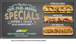 Subway Specials 1 by rocky0235