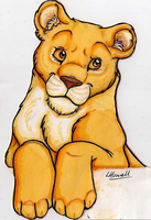 Lioness Monitor Sitter by calistamonkey