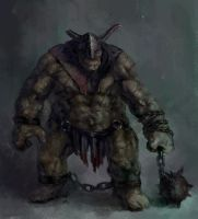 Ogre Dude by giantwood