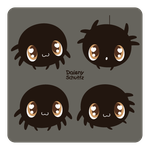 Chibi Spider by Daieny