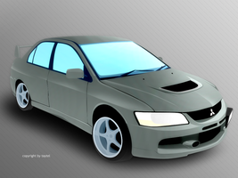 Mitsubishi Evolution by taytel