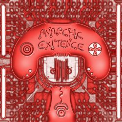 Anarchic Existence Cover red by Valentine-Bonny