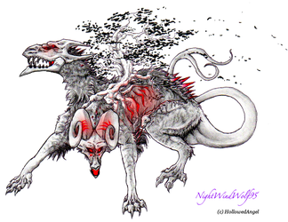 HollowedAngel Request by nightwindwolf95