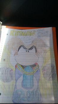 Rayman: Our First Brother by NewbornRay