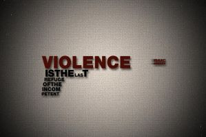 Violence is ... by OrangeUtan