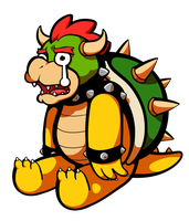 Cry cry Bowser by DarkChibiShadow