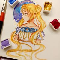 +Princess Serenity+ by Cyatus