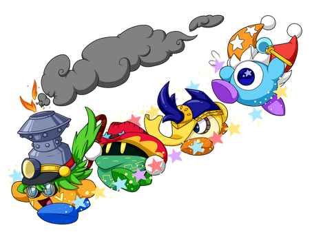 Commission: All Aboard the Friend Train! by SilverStarSheep
