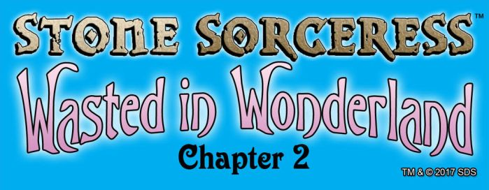 Logo for WASTED IN WONDERLAND - Chapter 2 by StoneSorceress