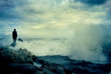 A sea to suffer in by Dina-bv