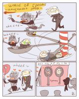 The Witcher 3, doodles 173 by Ayej