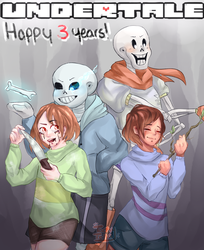 Three Years by Tacky-tella