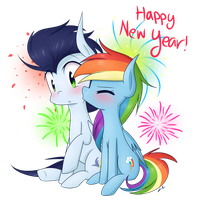 Happy New Year 2k16! by LittleCloudie