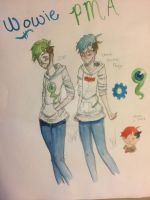 CrankGamePlays and Jacksepticeye  by pinkielora