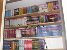 My Updated Manga Collection by Stephanie-Chivas