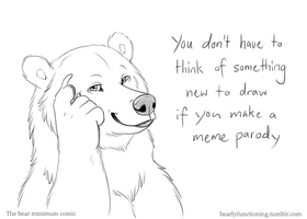 Meme bear by Bear-hybrid