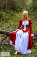 Cosplay - Saber Nero by Cospigeon