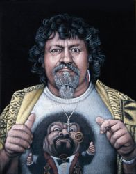 Captain Lou Albano by BruceWhite