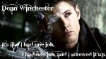 Dean Winchester by maleficent-angel