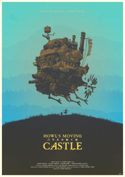 Spirit of the Demon - Howl's Moving Castle Poster by edwardjmoran