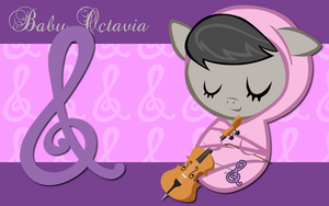 New Born Octavia WP by AliceHumanSacrifice0
