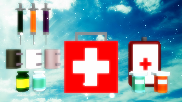 Unturned to MMD [Medical Supplies] + DL READY!! by soloya