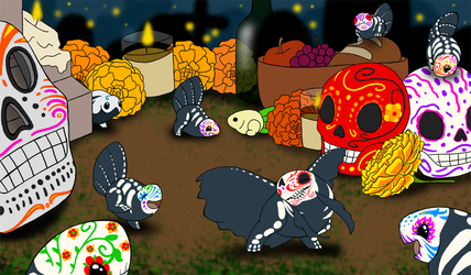 Discovering Day of the Dead by demented1