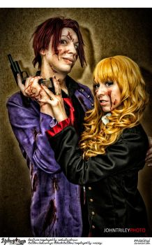 Umineko Cosplay:  Battler x Beatrice: Forgery XXX by Maxieyi