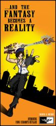 Weapons Campaign - Young Xehanort's Keyblade by ToraKingz