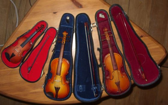 miniature instruments - fixer-uppers by Jany1982