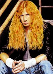 Dave Mustaine. Megadeth by Shamaanita