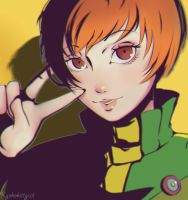 Chie by Phantomsauc