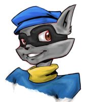 Sly Cooper by pretty-piranha