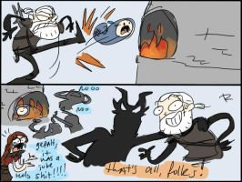 The Witcher 3, doodles 27 by Ayej