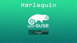 openSUSE 13.2 Harlequin Wallpaper [id_03] by ZeroxProject