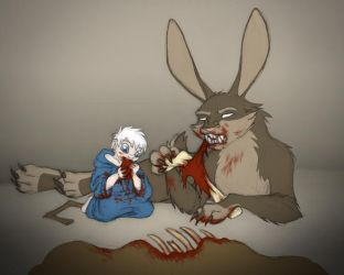 ROTG - Little Jack - feeding time by merrypaws