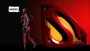 Deadpool Wallpaper - OOPS by Curtdawg53