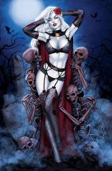 Lady Death by Elias-Chatzoudis