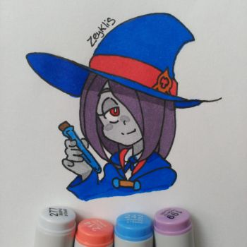 Sucy Manbavaran - Little Witch Academia by Zeyklis