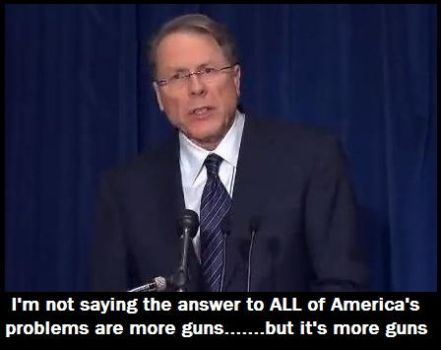 NRA Has All the Answers by lastchancelimited