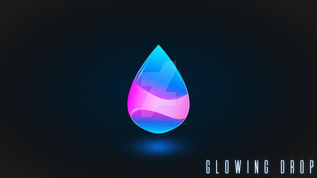 Glowing Drop by GraphicsWolf