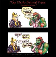 The Flesh-Bound Tome by BurnsLikeIce