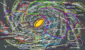 Galaxiaus of Warhammer Map by ArchangelOfJustice12